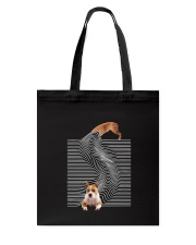 American Staffordshire Terrier Funny Tote Bag thumbnail