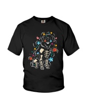 Rottweiler Skeleton 2508 Youth T-Shirt thumbnail