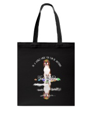 Beagle and world Tote Bag thumbnail