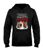 American Pit Bull Terrier Christmas Eve Hooded Sweatshirt thumbnail