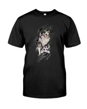 ZEUS - Siberian Husky Scratch New - 0709 - A20 Classic T-Shirt front
