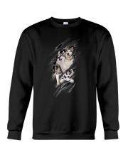 ZEUS - Siberian Husky Scratch New - 0709 - A20 Crewneck Sweatshirt thumbnail