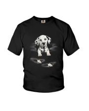 Dalmatian Scratch Youth T-Shirt thumbnail