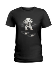 Dalmatian Scratch Ladies T-Shirt thumbnail