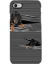 Dachshund Striped New Phone Case thumbnail