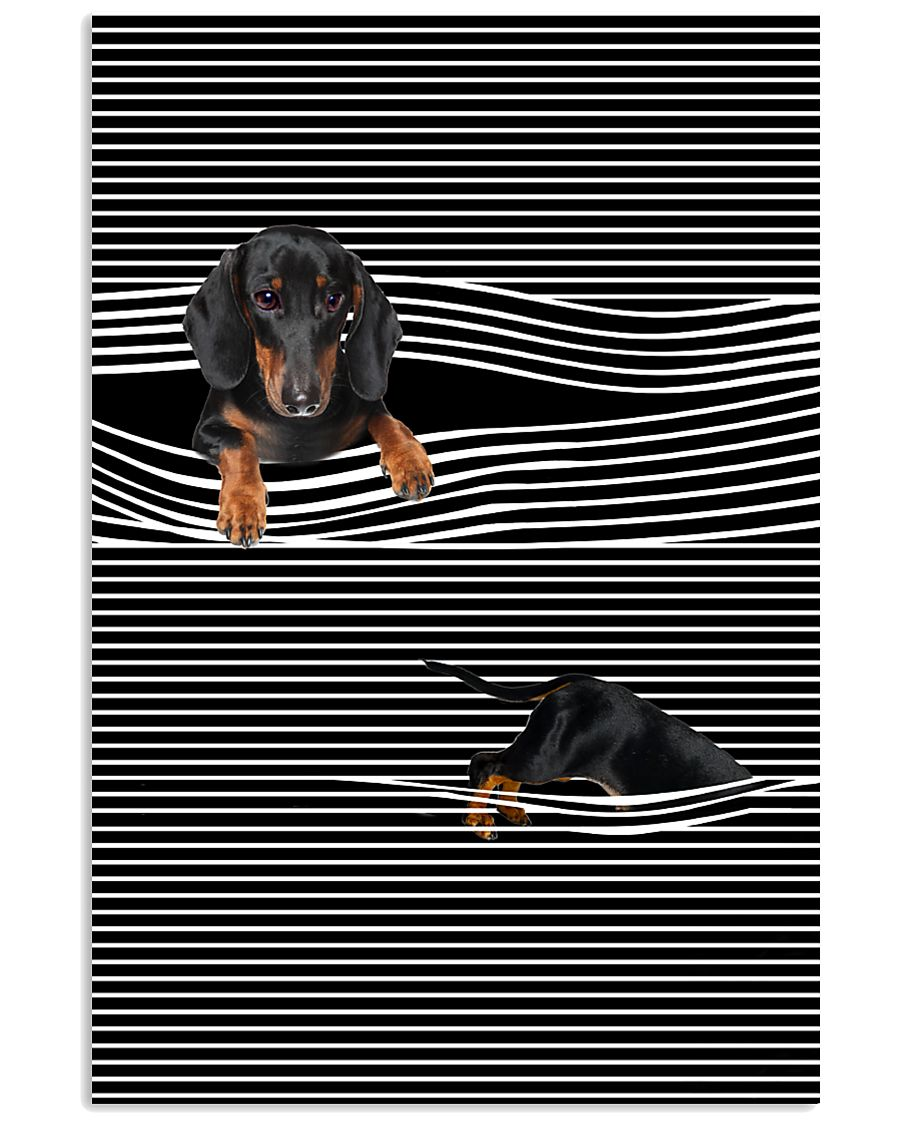 Dachshund Striped New 11x17 Poster