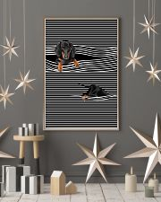Dachshund Striped New 11x17 Poster lifestyle-holiday-poster-1