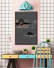Dachshund Striped New 11x17 Poster lifestyle-poster-6