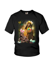 Field Spaniel Happy Easter Day 2601  Youth T-Shirt thumbnail