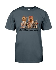 Yorkshire Terrier Antidepressants 1712 Classic T-Shirt thumbnail