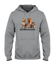 Yorkshire Terrier Antidepressants 1712 Hooded Sweatshirt thumbnail