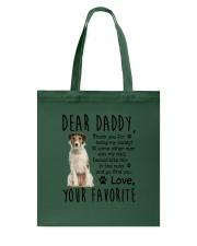 Toy Fox Terrier Dear Daddy Mug 1701 Tote Bag thumbnail