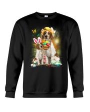 Welsh Springer Spaniel Happy Easter Day 2601  Crewneck Sweatshirt thumbnail