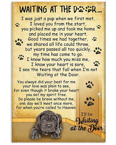 Neapolitan Mastiff Waiting Poster 2301