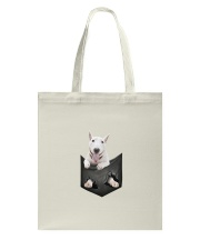Bull Terrier Pocket 1012 Tote Bag front