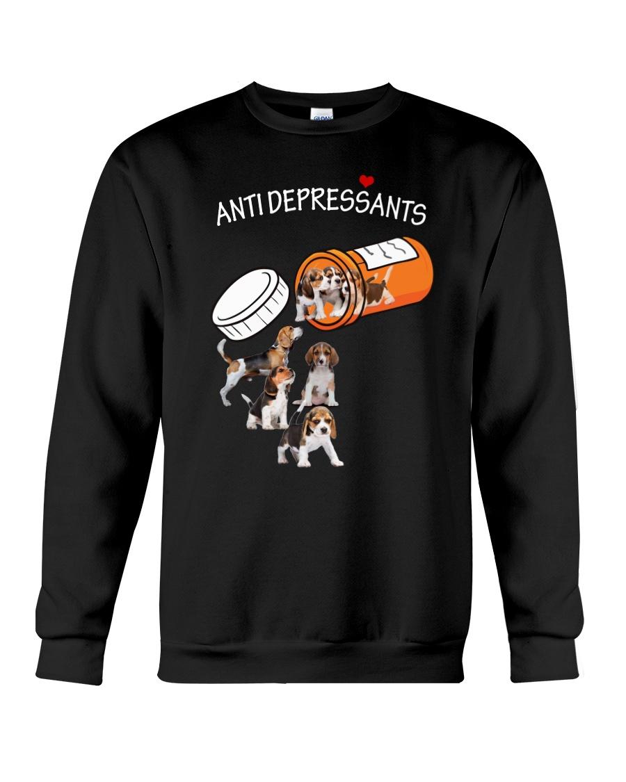 Beagle Anti Crewneck Sweatshirt