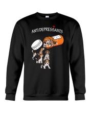 Beagle Anti Crewneck Sweatshirt front