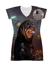Rottweiler Halloween All-over Dress thumbnail