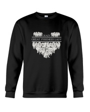 Great Pyrenees Crazy Lady 3101 Crewneck Sweatshirt thumbnail