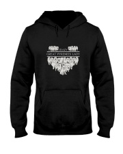 Great Pyrenees Crazy Lady 3101 Hooded Sweatshirt thumbnail