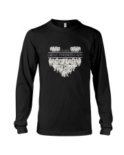 Great Pyrenees Crazy Lady 3101 Long Sleeve Tee thumbnail