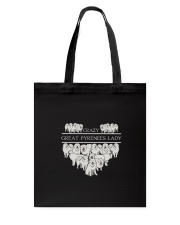 Great Pyrenees Crazy Lady 3101 Tote Bag thumbnail