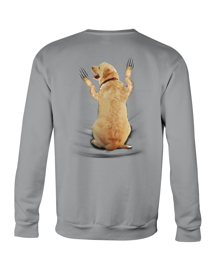 Labrador Retriever Scratch 1412 Crewneck Sweatshirt