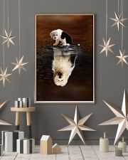 Old English Sheepdog Believe 11x17 Poster lifestyle-holiday-poster-1
