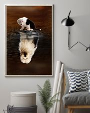 Old English Sheepdog Believe 11x17 Poster lifestyle-poster-1