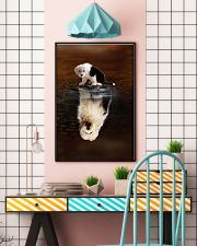 Old English Sheepdog Believe 11x17 Poster lifestyle-poster-6