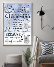 American Eskimo Dog I Became Yours 1001  11x17 Poster lifestyle-poster-1