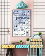 American Eskimo Dog I Became Yours 1001  11x17 Poster lifestyle-poster-6