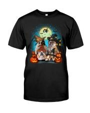 Gaea- Bulldog Halloween- 1508- 19 Classic T-Shirt front