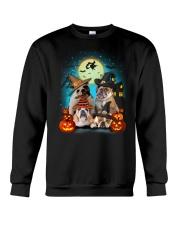 Gaea- Bulldog Halloween- 1508- 19 Crewneck Sweatshirt thumbnail