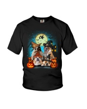 Gaea- Bulldog Halloween- 1508- 19 Youth T-Shirt thumbnail