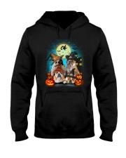 Gaea- Bulldog Halloween- 1508- 19 Hooded Sweatshirt thumbnail