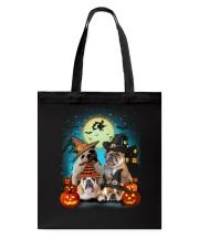 Gaea- Bulldog Halloween- 1508- 19 Tote Bag thumbnail