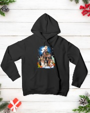 Cavalier King Charles Spaniel Pine - A22 Hooded Sweatshirt lifestyle-holiday-hoodie-front-3