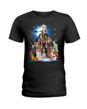 Cavalier King Charles Spaniel Pine - A22 Ladies T-Shirt thumbnail