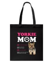 Yorkie mom 2510 Tote Bag thumbnail