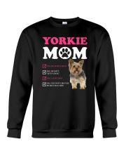 Yorkie mom 2510 Crewneck Sweatshirt thumbnail