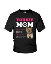 Yorkie mom 2510 Youth T-Shirt thumbnail