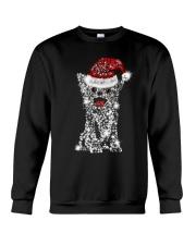 Chihuahua Snowflake Bling Crewneck Sweatshirt front