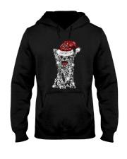 Chihuahua Snowflake Bling Hooded Sweatshirt thumbnail