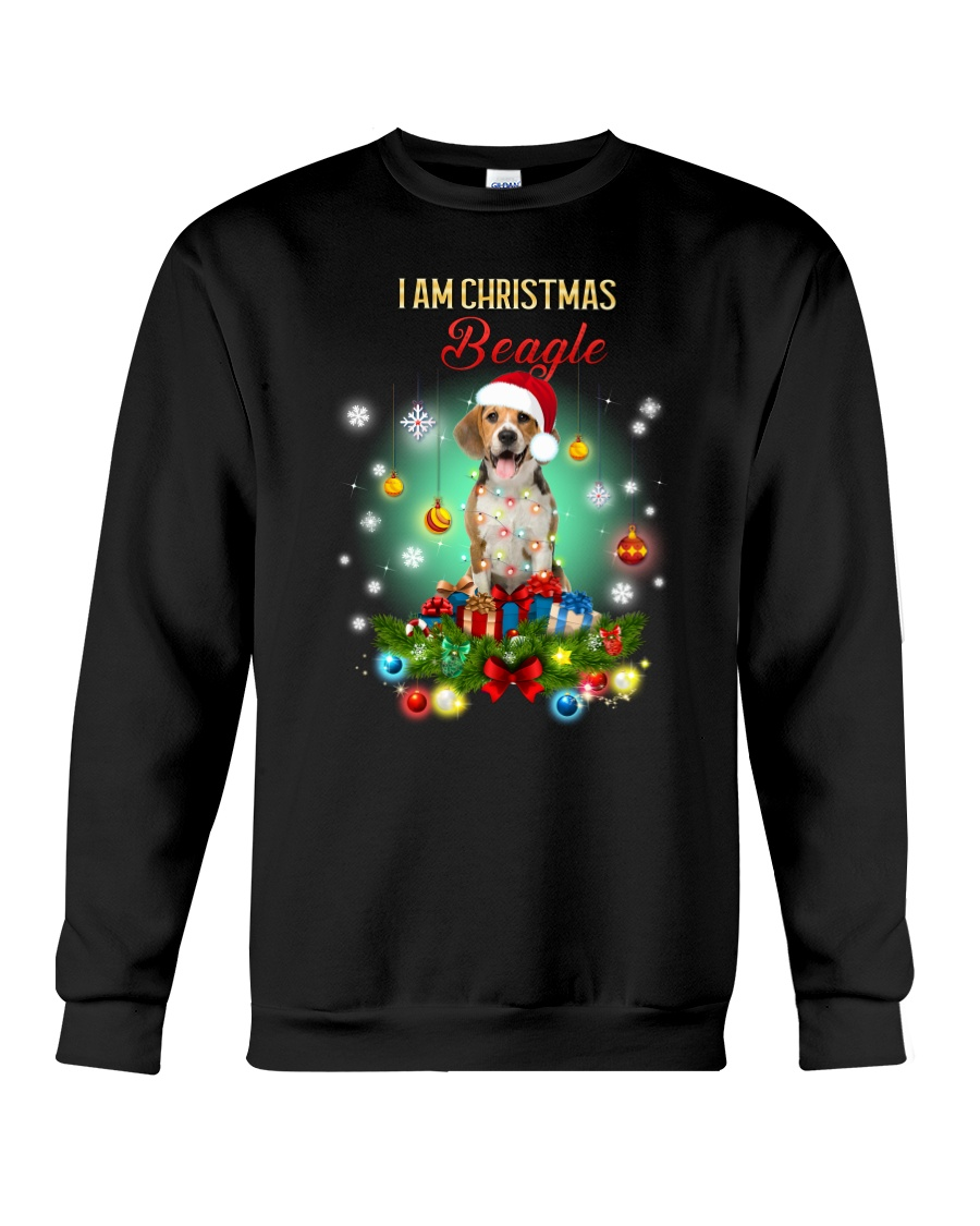 Beagle Christmas Crewneck Sweatshirt
