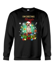Beagle Christmas Crewneck Sweatshirt thumbnail