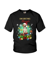 Beagle Christmas Youth T-Shirt thumbnail
