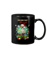 Beagle Christmas Mug tile