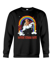 Yorkshire Terrier Haters 1607 Crewneck Sweatshirt thumbnail