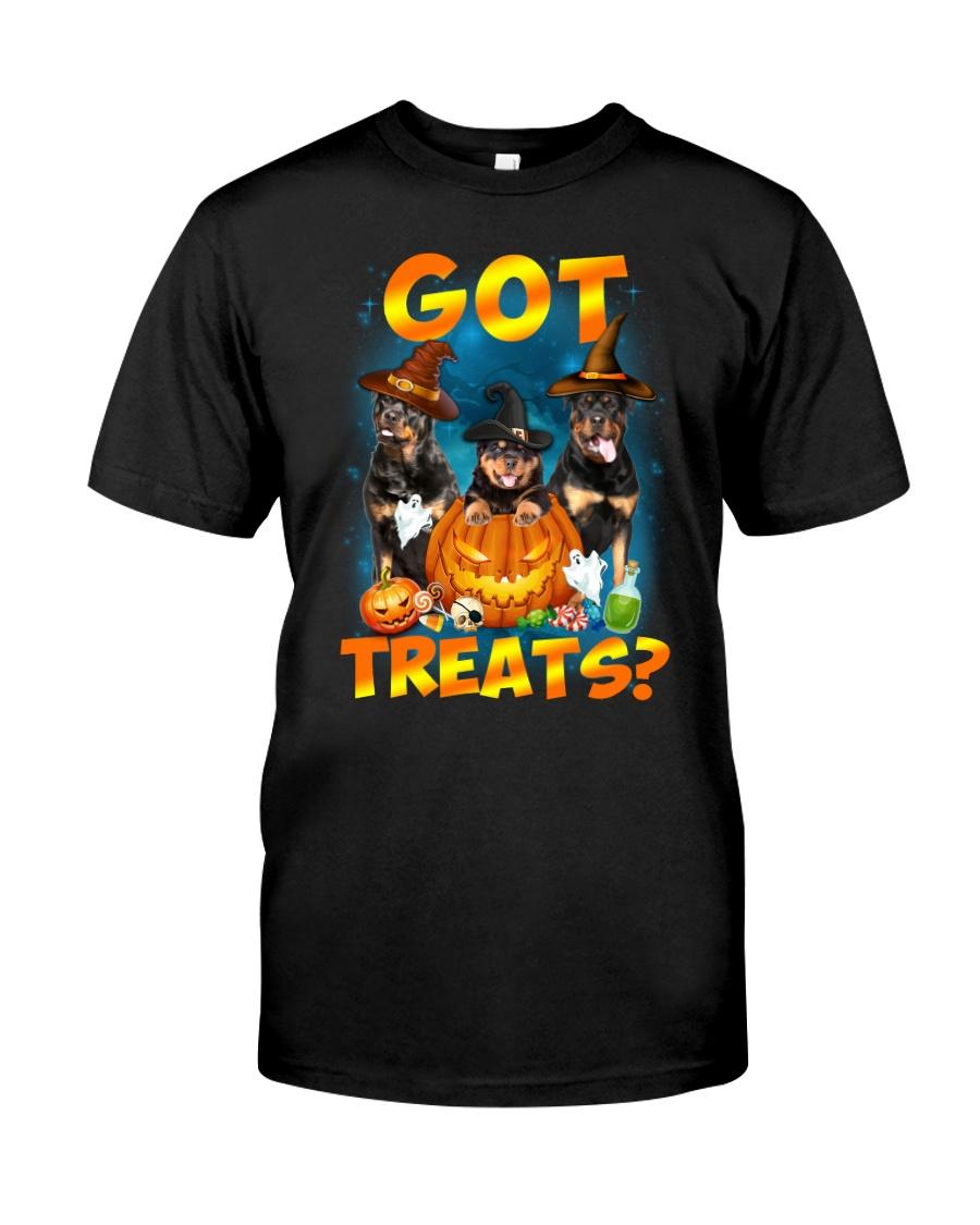 Rottweiler Got Treat 0108 Classic T-Shirt